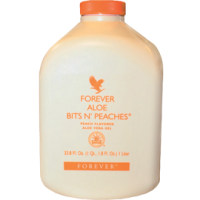 FOREVER ALOE BITS PEACHES