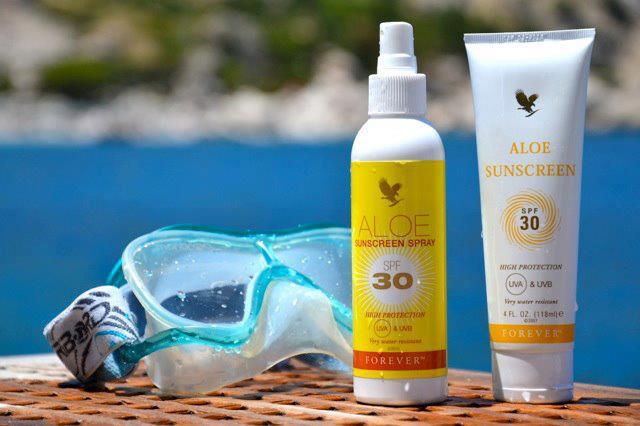 Aloe Sunscreen Spray e Crema(Prodotto per la bellezza e protezione della pelle)