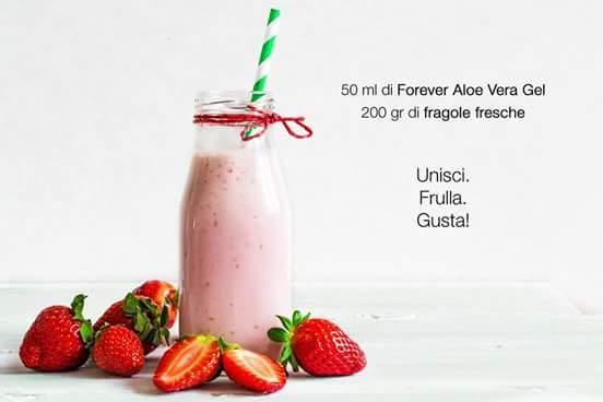 Aloe vera e Fragole
