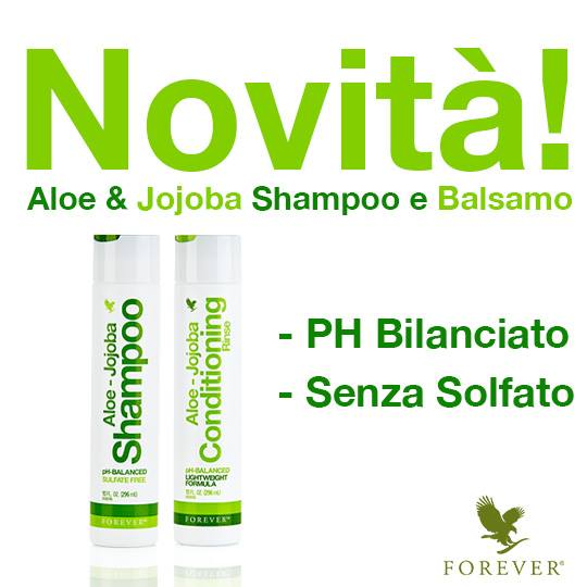 Nuovo Aloe & Jojoba Shampoo e Conditioning Rinse Forever