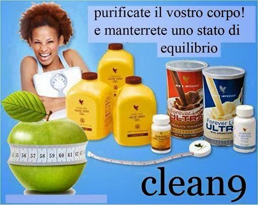 Programma di Disintossicazione dalle Tossine Clean 9