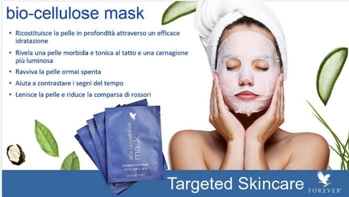 Aloe bio-cellulose mask