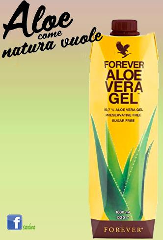 Aloe vera Gel Naturalmente