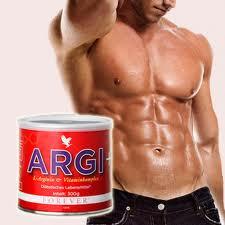 Argi+ associato ad aloe vera gel forever, mix di salute ed energia.