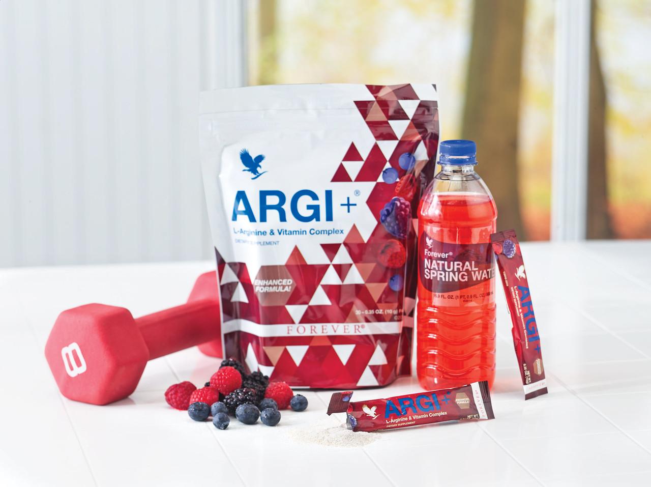 Argi+ contiene 30 bustine monodose