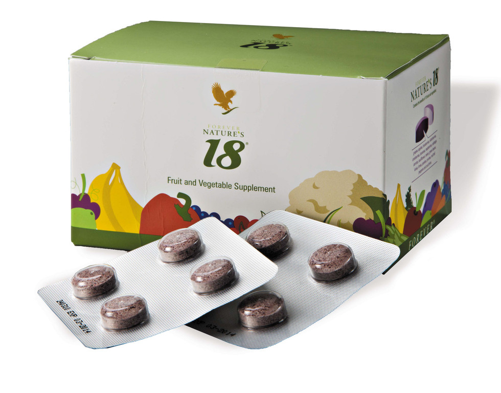 Formula composta da 18 ingredienti per fornire all'organismo una corretta alimentazione.