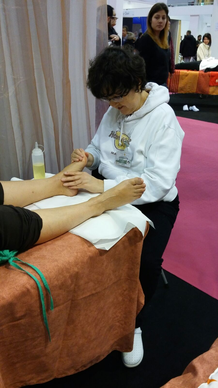 Massagio del piede