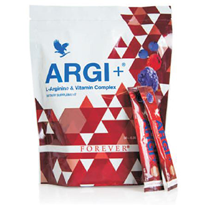 ARGI+ Una marcia in più al gusto di Frutti Rossi! - Succoaloevera - Forever Living