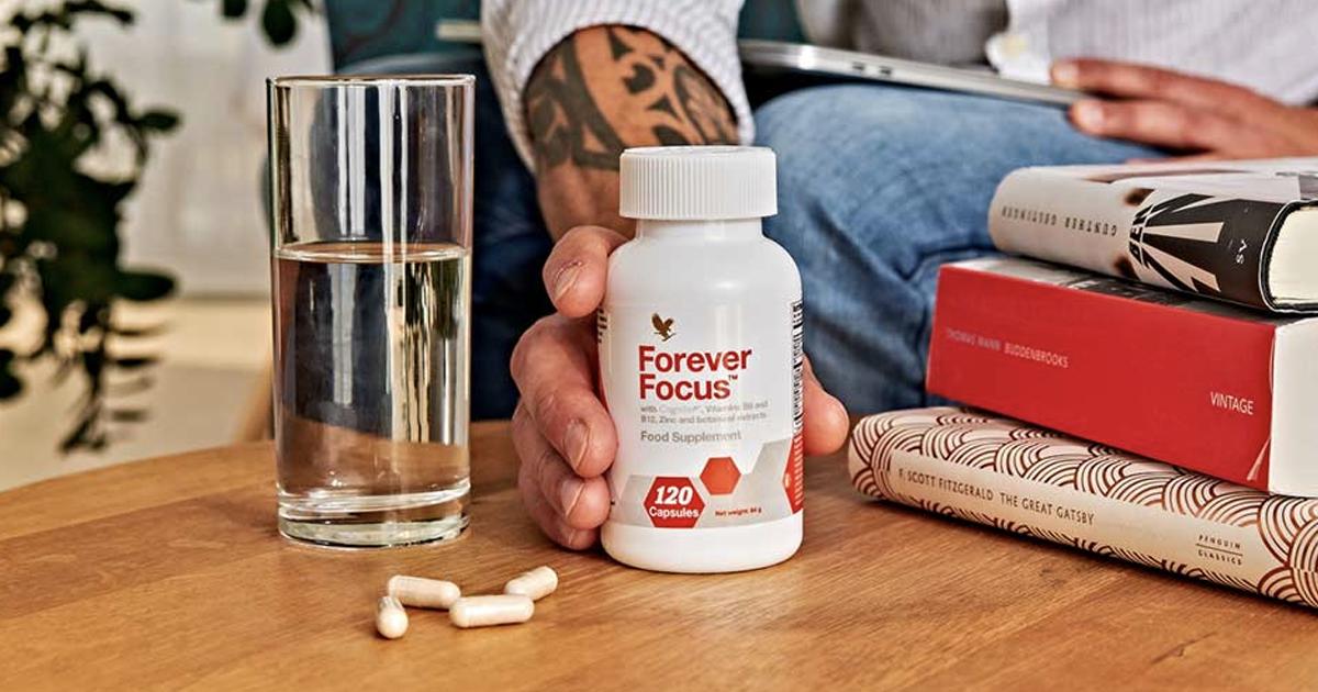 Forever Focus, Lucidità, concentrazione e funzioni cognitive! - SuccoAloeVera - Forever Living Products