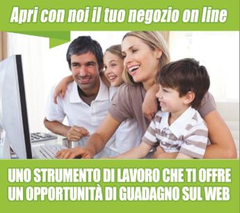 APRI CON NOI IL TUO NEGOZIO ON LINE E LE TUE CATENE DI NEGOZI ON LINE IN TUTTA ITALIA!!! RADDOPPIA LE TUE ENTRATE  COSA ASPETTI CONTATTAMI!! IL FUTURO E' INTERNET SEI DISOCCUPATO COGLI AL VOLO LA NOSTRA OPPORTUNITA'!!!