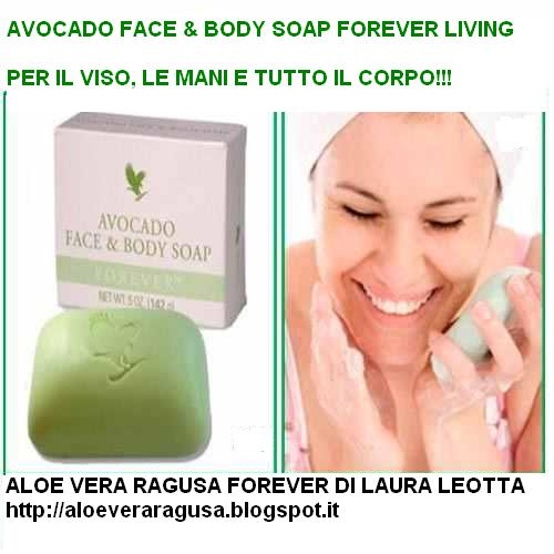 AVOCADO FACE & BODY SOAP FOREVER LIVING