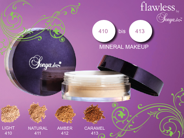 ALOE VERA FLAWLESS BY SONYA FOREVER MINERAL MAKE UP