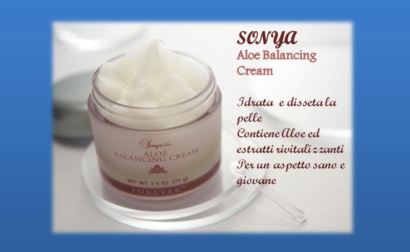 Sonya Aloe Balancing Cream(Elisir di bellezza)