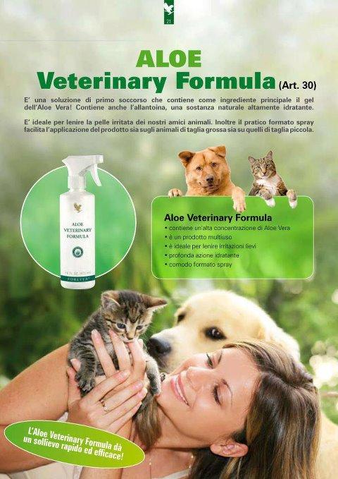 Aloe Veterinary Formula(Per l'igiene della casa ....e per i tuoi Amici Animali)
