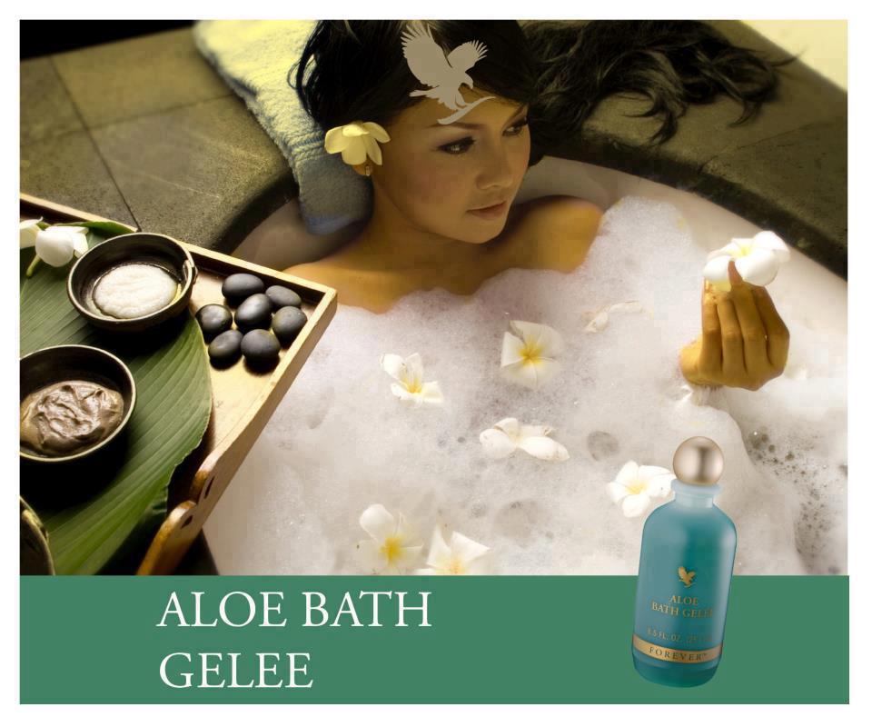 Aloe Bath Gelee(Bagnoschiusa all'aloe)Prodotto per l'igiene personale