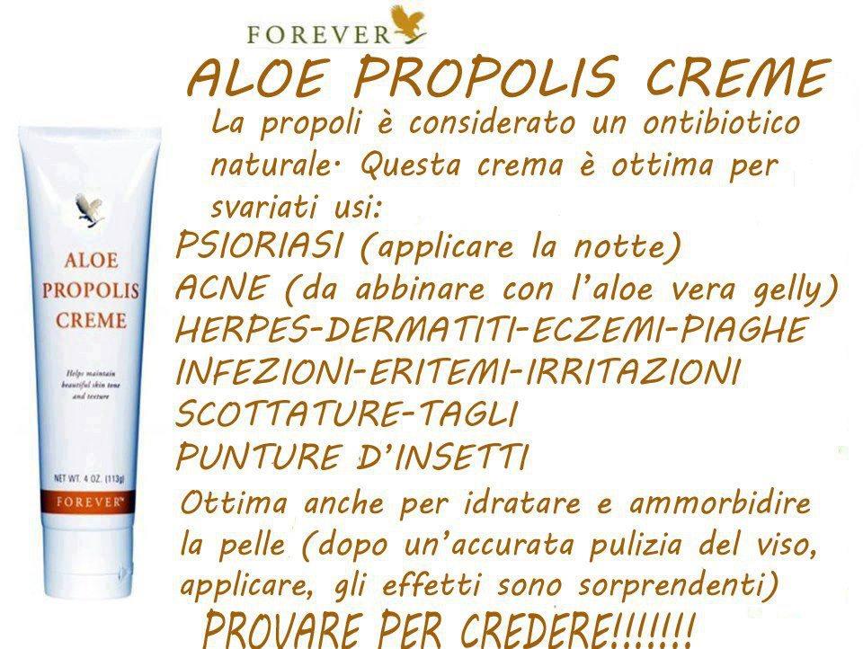 Aloe Propolis Creme(Bellezza e protezione della pelle)