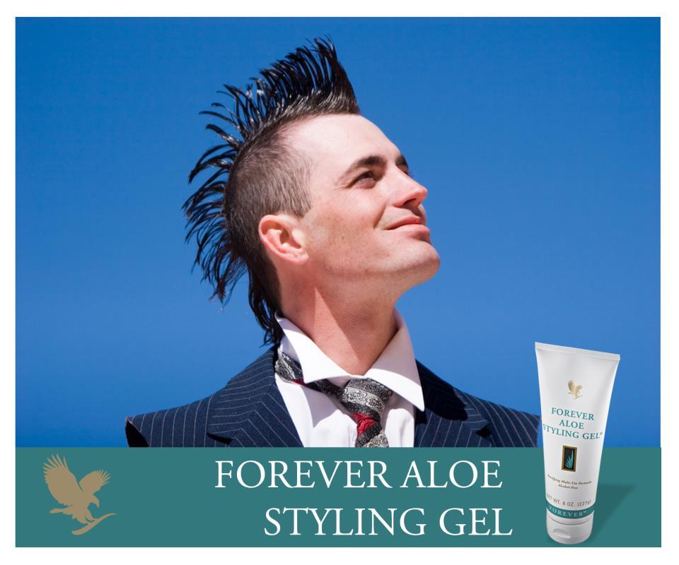 Forever Aloe Styling-Gel per capelli all'aloe(Prodotto per l'igiene personale)