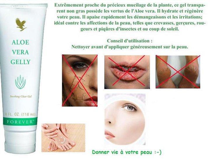 Aloe Vera Gelly(Prodotto per bellezza e protezione della pelle)