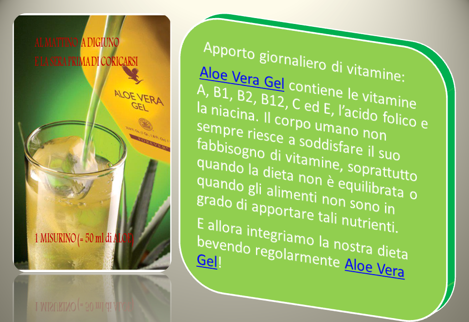 BENEFICI DELL'ALOE VERA GEL(Perche' bere l'aloe )