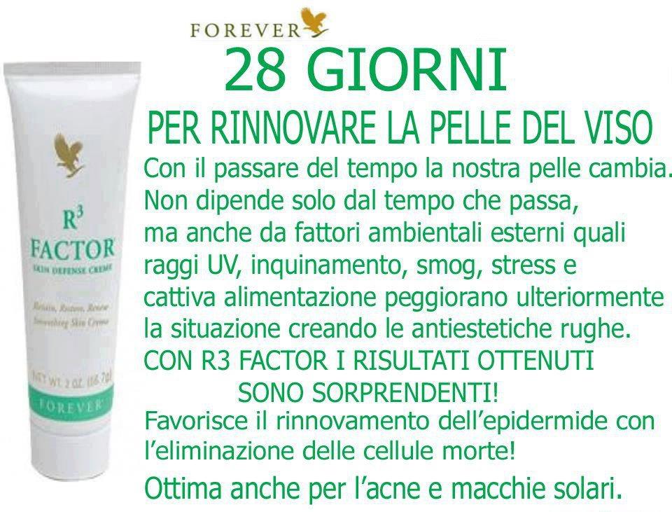 R3 Factor(Prodotto per la bellezza e protezione della pelle)