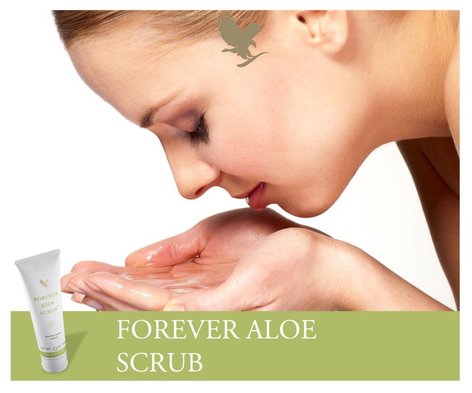 Forever Aloe Scrub(Prodotto per la bellezza e la protezione della pelle)