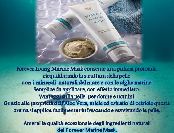 Forever Marine Mask(Prodotto per la bellezza e protezione della pelle)