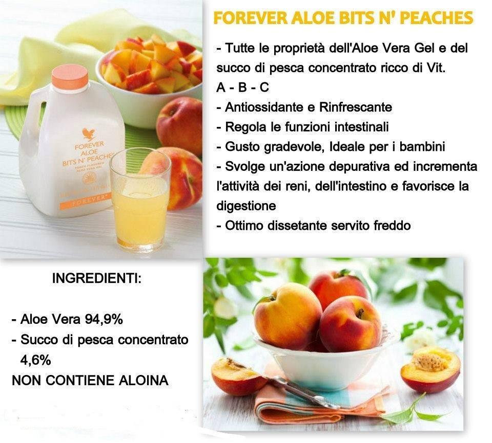 Forever Aloe Bits n' Peaches(bevande a base di aloe vera)
