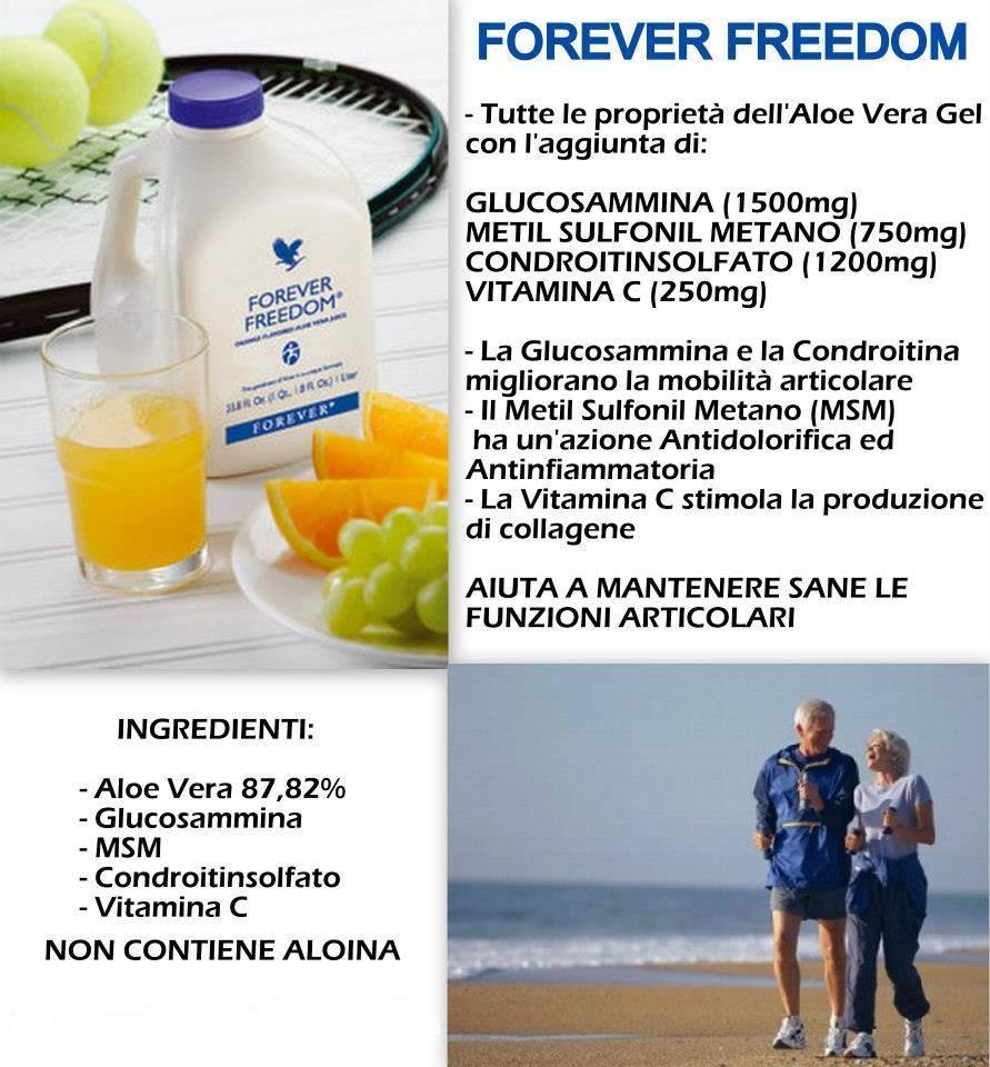 Forever Freedom(Bevanda a base aloe vera)