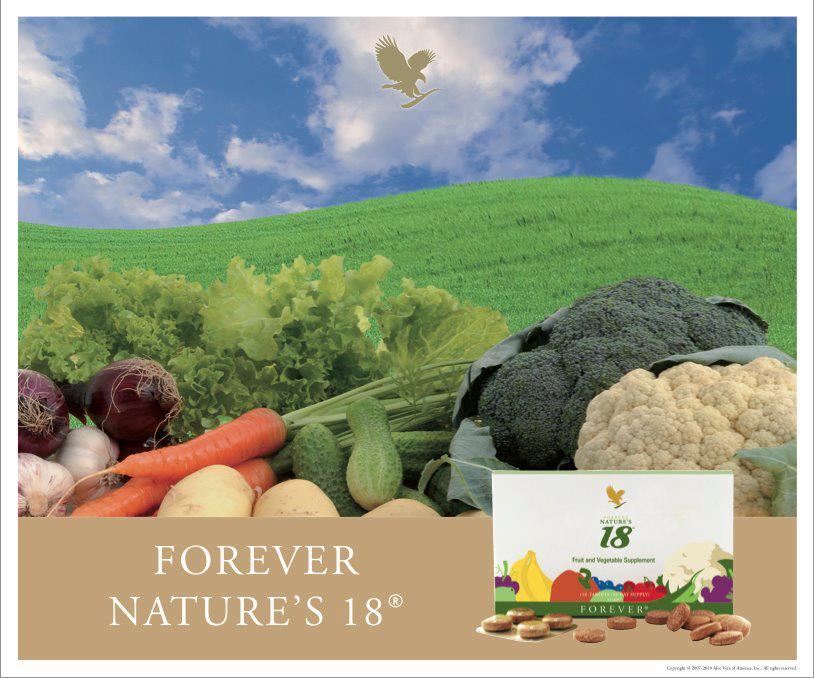 Forever Nature's 18(integratore alimentare)