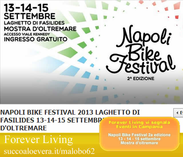 Forever Living - Eventi in Campania: Napoli Bike Festival