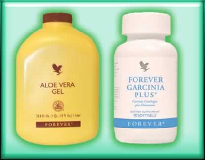 Aloe Vera  e forever Garcinia + Forever Living